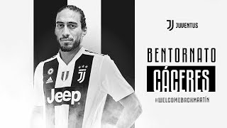 Welcome back, Martin Caceres!