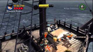 Lego Pirates of the Caribbean, Dead Mans Chest Stage 5 The Kraken and Ending