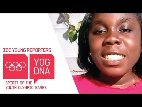 Stella Annan, Ghana #Nanjing2014