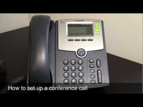 Repeat NEC Phone System: How to set up a conference call on