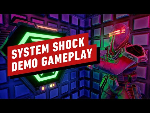 System Shock Alpha Demo First 15 Minutes of Gameplay - IGN