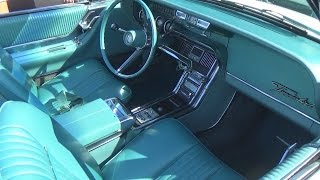 CLEAN Mid-60s Thunderbird (light blue interior)