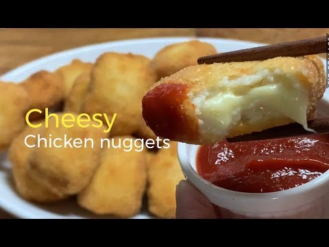 Cheesy chicken nuggets/ kids favorite & easy to make