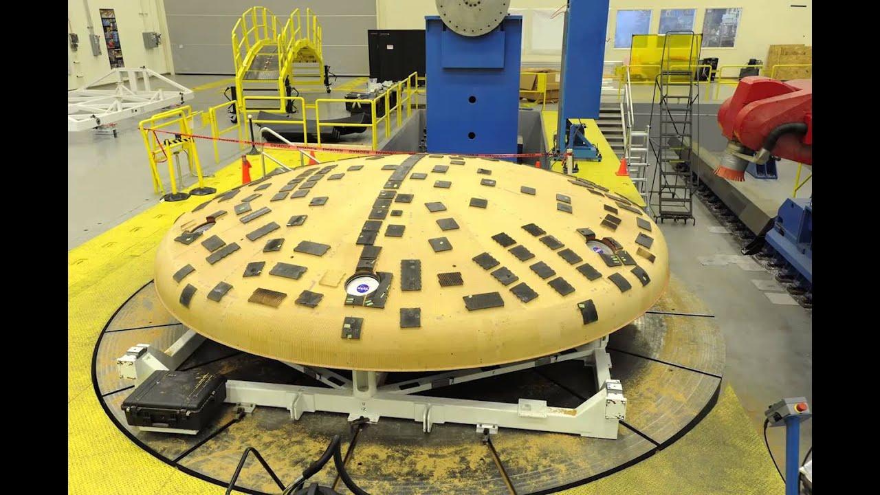 NASA Team at Marshall Removes Charred Orion Heat Shield ...