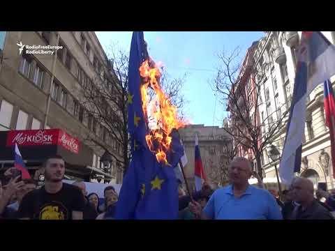 Serbian Ultranationalists Mark NATO Air Campaign Anniversary