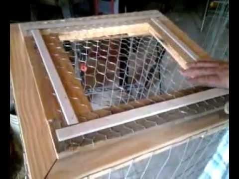 Diy Cheap Wire Cage Youtube