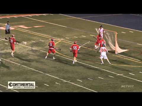 Naperville Central vs Naperville North Boys Lacrosse April 29, 2014