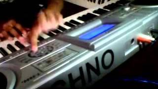 Stasiun Balapan versi Keyboard Techno T9800i