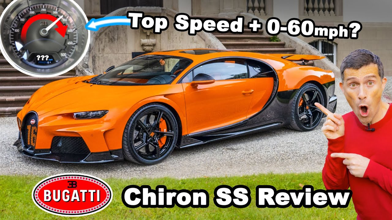 Bugatti Chiron Super Sport review - how fast can I drive it on the Autobahn?