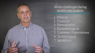 Seven Challenges Facing Today's Health Care Leaders