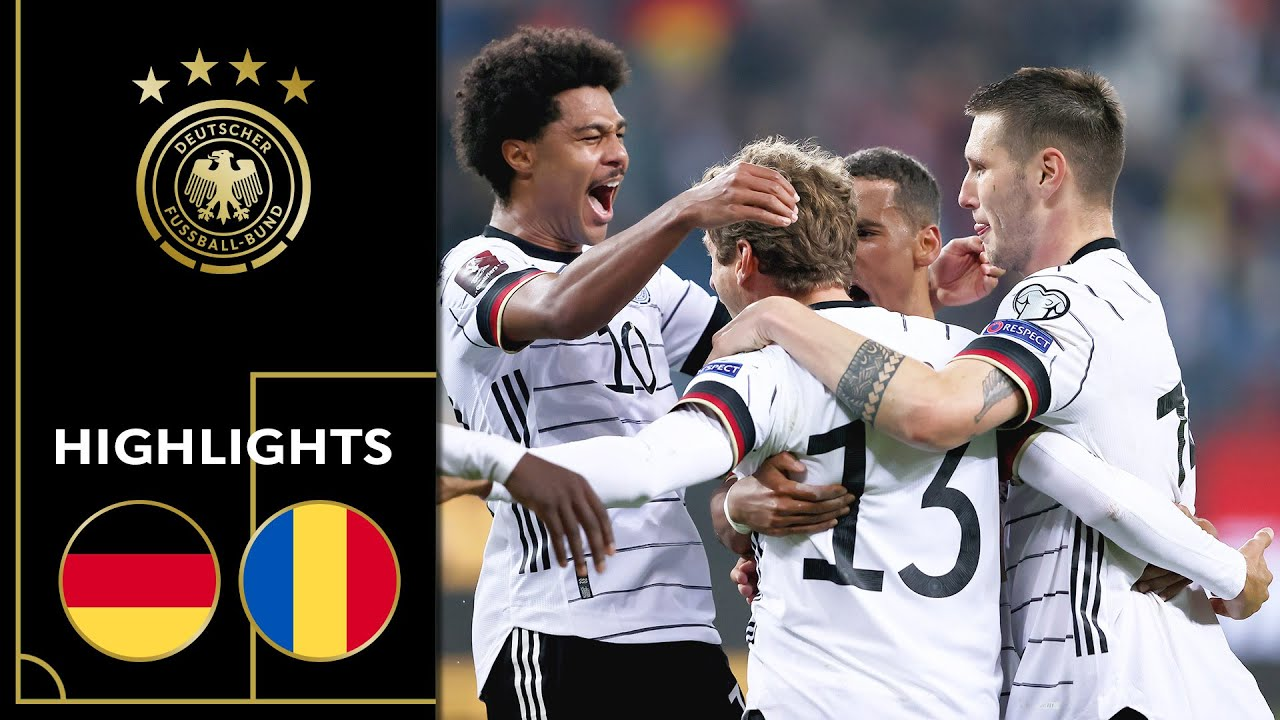 Download Müller brings hard-fought win for GER   Germany vs. Romania 2-1   Highlights   Worldcup Qualifier