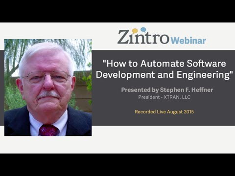 """""""How to Automate Software Development and Engineering"""""""