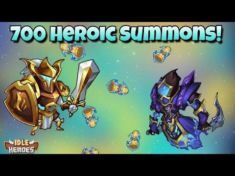 Idle Heroes (P) - 700 Heroic Summons - Idle Heroes 2nd