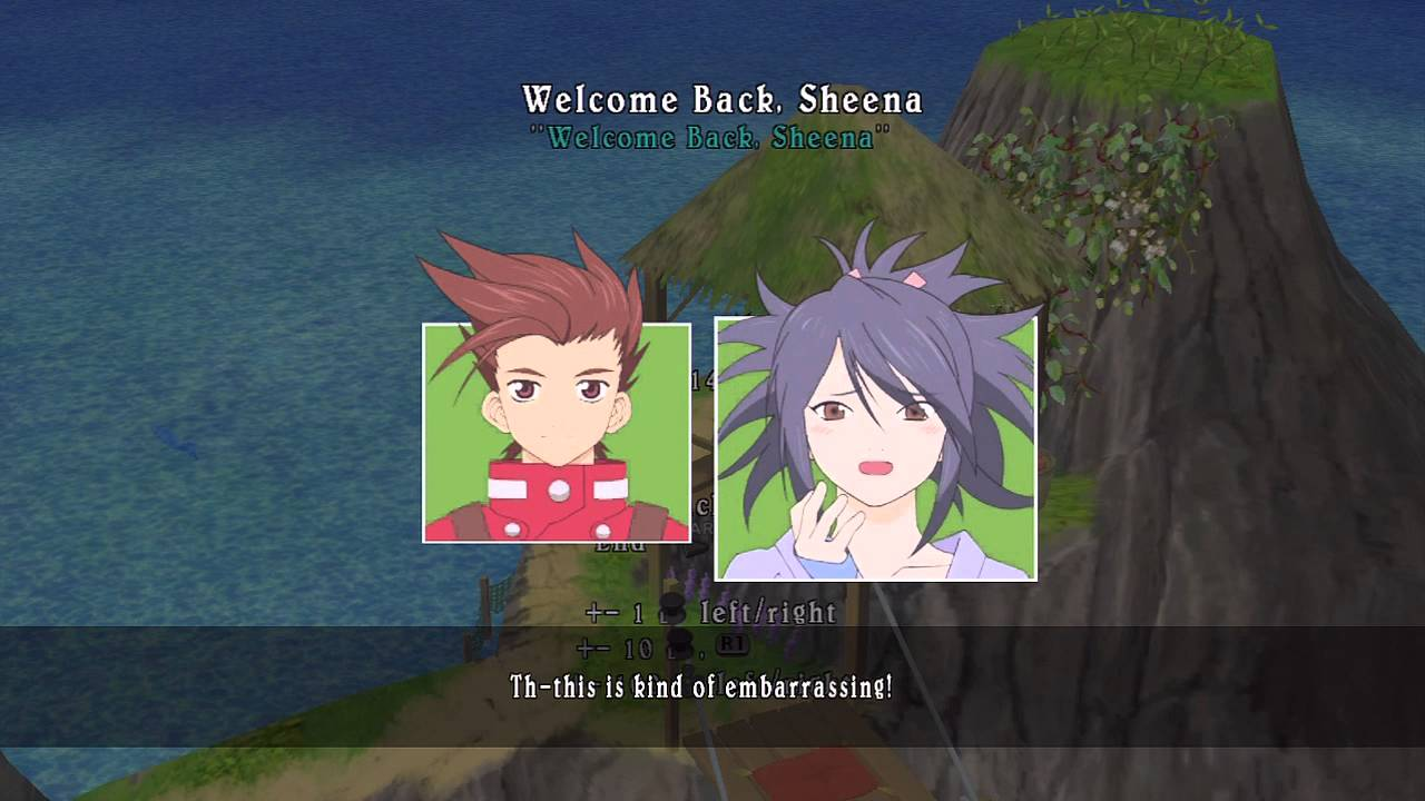 Tales Of Symphonia Skit 144 Welcome Back Sheena Youtube