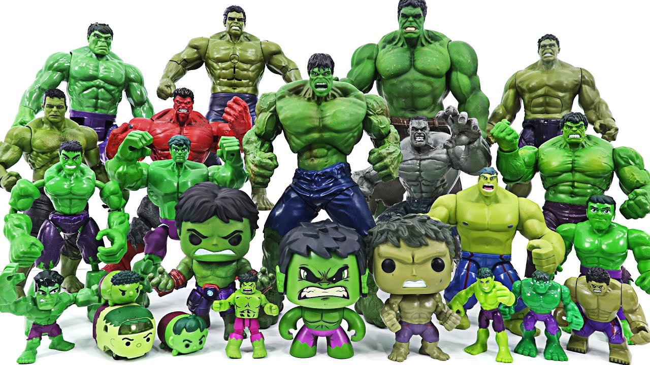 Marvel Avengers Hulk! Defeat enemies by transforming into various sizes and colors!   DuDuPopTOY