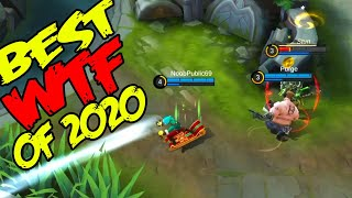 Mobile Legends Best WTF | Funny moments of 2020 part 1
