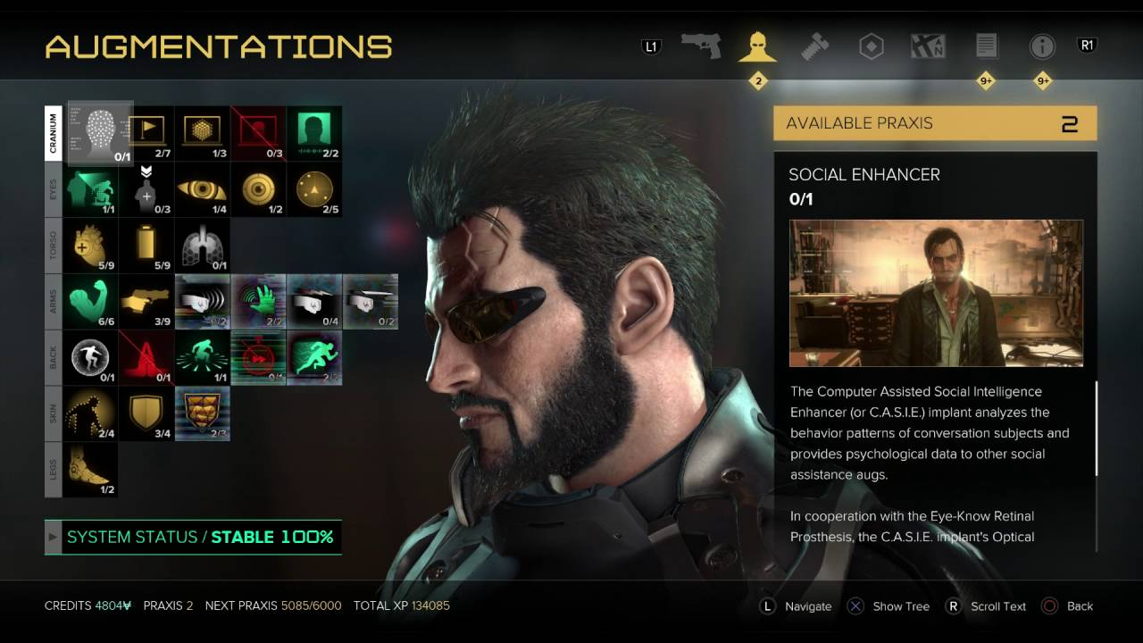 5 New Augs in Deus Ex: Mankind Divided - YouTube