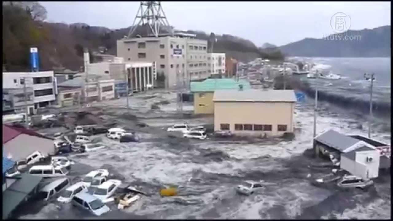 日本民眾紀念311大地震四周年 - YouTube