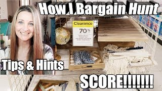 How to Bargain/Clearance Shop~Tips/Tricks & Hints~ I'll show you in 6 Stores⭐SCORE!!⭐