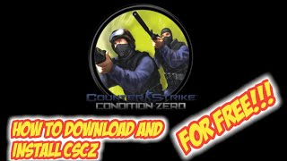 How To Download And Install Counter-Strike Condition Zero Full Crack + Serial Number