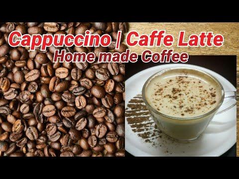 Caffe latte | Home Made coffee | How to make hot coffee
