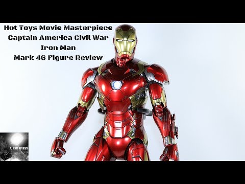 Hot Toys Movie Masterpiece Captain America Civil War: Iron Man Mark 46 Figure Review