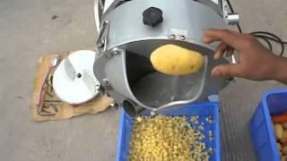 Potato cutting machine,potato slicer,potato dicer,potato cutter,potato Chopper