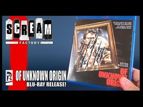 Blu-Ray Spot | Scream Factory Of Unknown Origin Blu-Ray (Release Date May 22 2018)