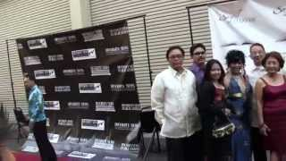 Lourdes Duque Baron Arrives at 5th Annual Kayamanan ng Bayan in CBS Studio Center New York Street
