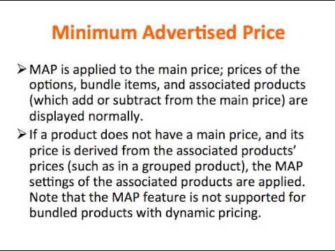 Magento Minimum Advertised Price YouTube - Map policy template