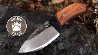 "Fabrication couteau : ""LE CANDIJU"""