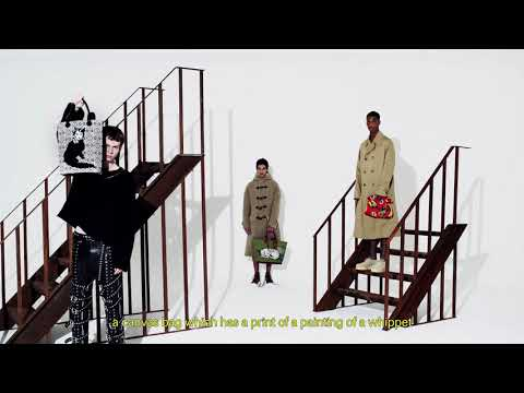 LOEWE Fall Winter 2021 Men's collection walkthrough with Jonathan Anderson