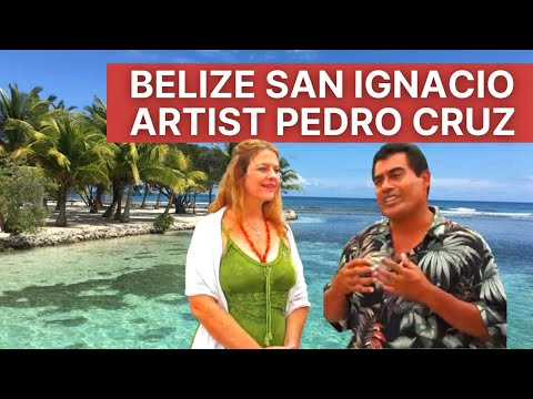 Belize San Ignacio Artist Pedro Cruz
