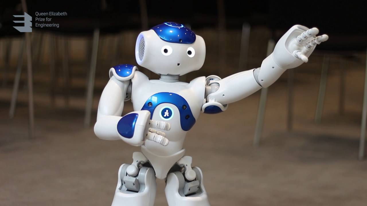 Meet Pepper, the educational robot - YouTube