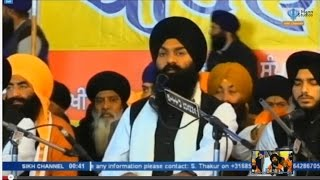 Bhai Gagandeep Singh Sri Ganga Nagar Wale - Barsi Baba Daya Singh Sur Singh (Sikh Channel Live) 2015