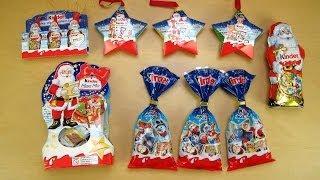 Kinder Chocolate Christmas Stuff