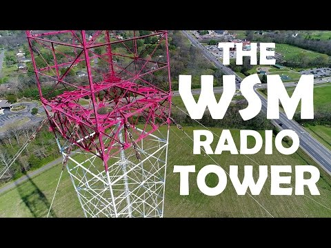 KEN HERON - Drone the WSM Transmitter Tower in Nashville, Tennessee [4K]