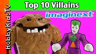 Who are the Top 10 Super Villains? HobbyKidsTV Opinion