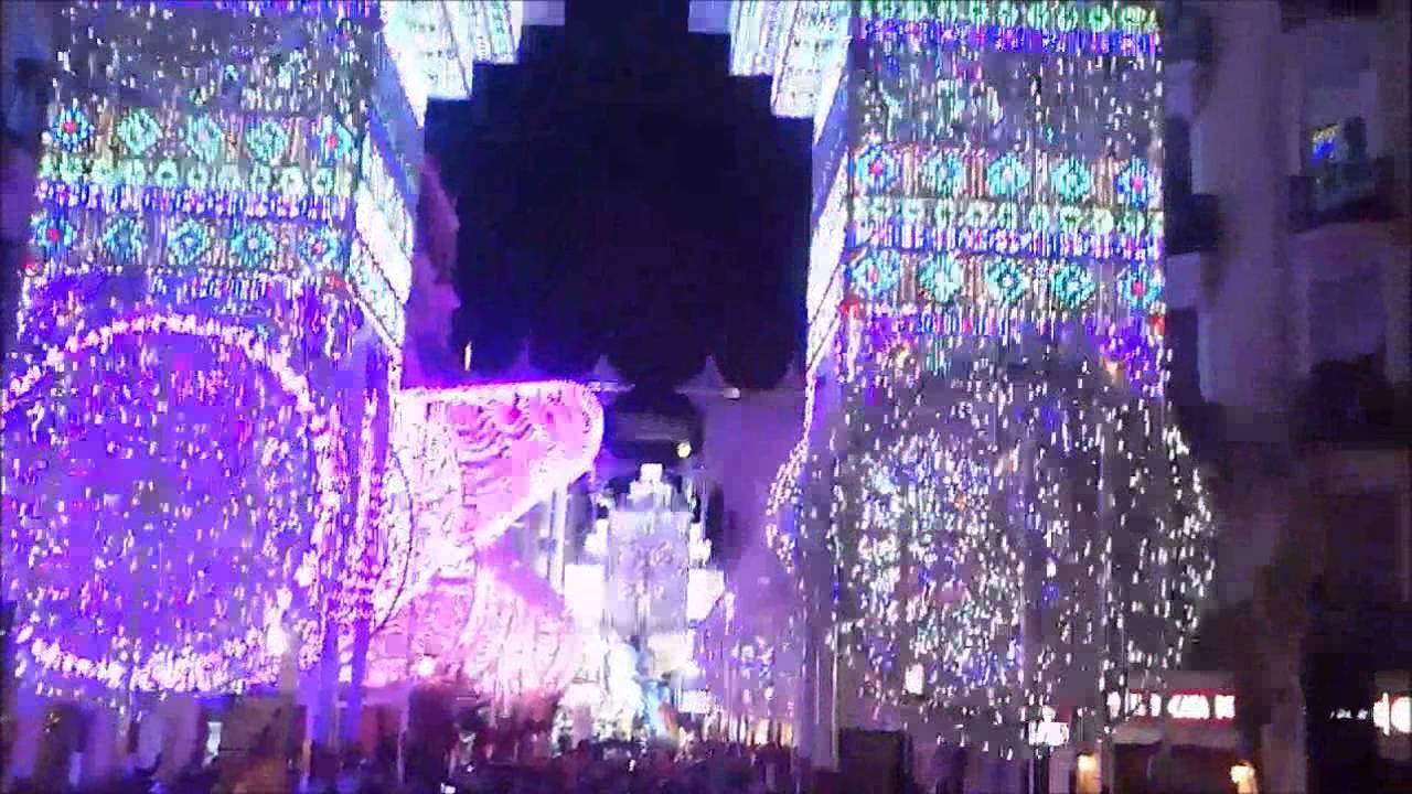Las Fallas 2015 - Valencia - Russafa light show - Two Steps from ...