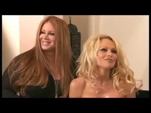 Alexis Vogel and Pamela Anderson