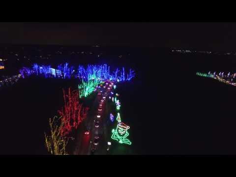 Shady Brook Farm Holiday Light Show 2016