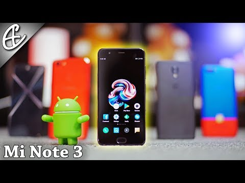 Xiaomi Mi Note 3 Review (in Cinematic 4K 21:9)