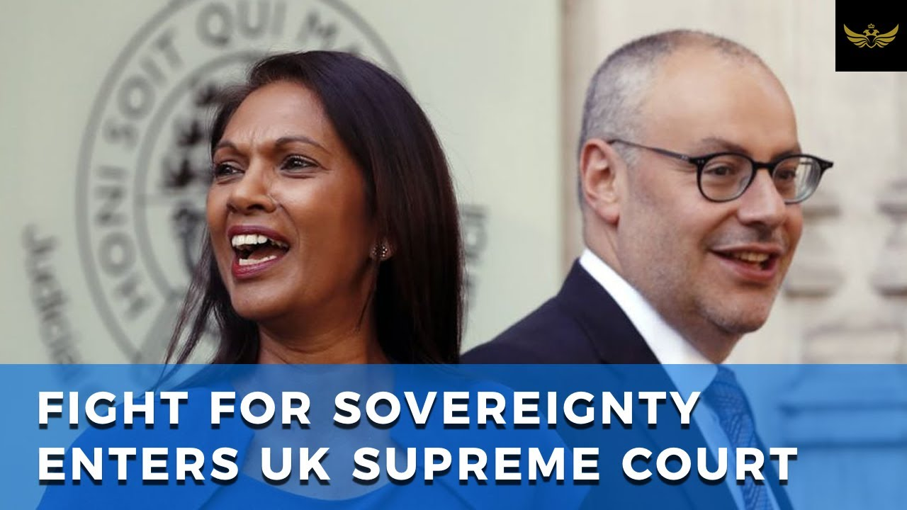 Fight for Britain's sovereignty enters U.K. Supreme Court