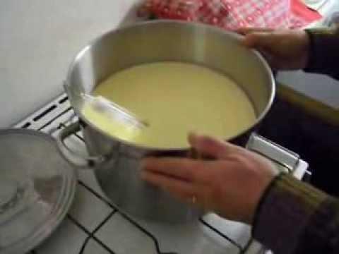 FABRICATION DU FROMAGE (tome au lait de vache)