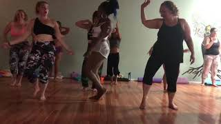YogiDance with Char Twerkshop ceremony routine