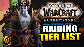 Every Spec RANKED for Shadowlands raiding! // World of Warcraft
