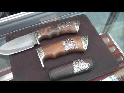 И.Ю. Пампуха  предлагает новые рукояти для ножей