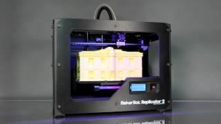 makerbot replicator 2 desktop 3d printer how it works