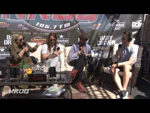 The Head and the Heart interview - KROQ Party House at Coachella