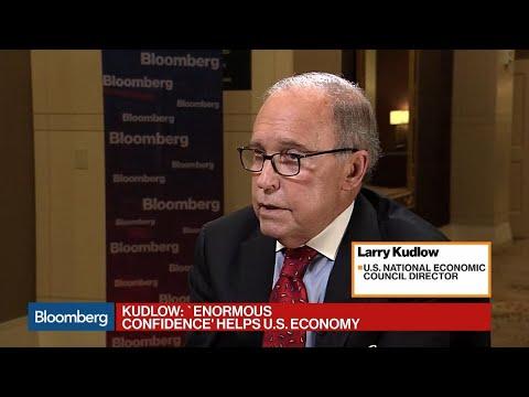 Kudlow Sees 'Enormous Confidence' Driving U.S. Economic Growth